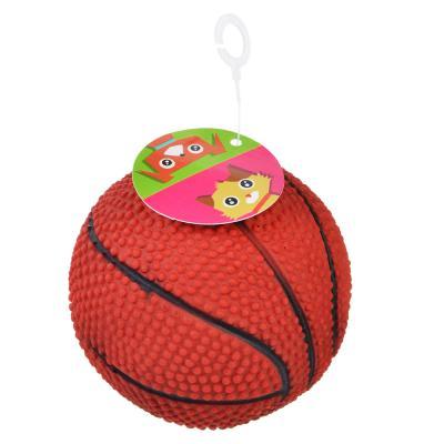 """183-045 Игрушка для собак """"Мячик"""", резина, d7,5см, 3 дизайна"""