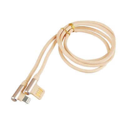 470-031 FORZA Шнур для зарядки iP, 2 А, оплетка, 1м