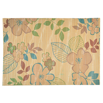 890-320 Салфетка, бамбук, 45х30см, Цветок