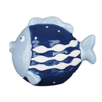 "414-027 MILLIMI Фигурка ""Рыба-кит""  12,1х8,8х9,2см, керамика"