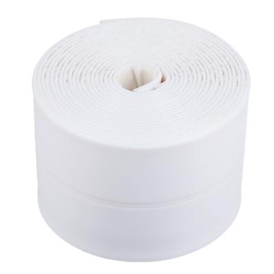 Лента бордюрная самоклеящаяся, полиэтилен, 60 ммх3,35 м, белая,