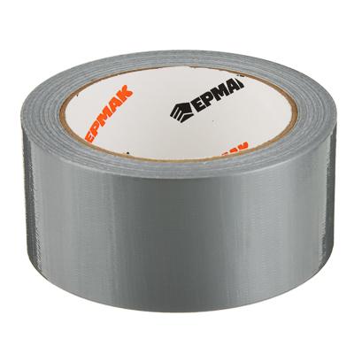 Лента клейкая армированная, 48 ммх25 м, серебряная, инд.упаковка,