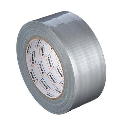472-049 Лента клейкая армированная, 48 ммх40 м, серебряная, инд.упаковка, ЕРМАК