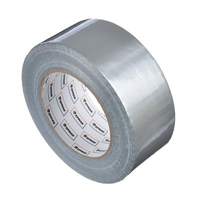 472-050 ЕРМАК Лента клейкая армированная серебряная 48мм х 50м, инд.упаковка