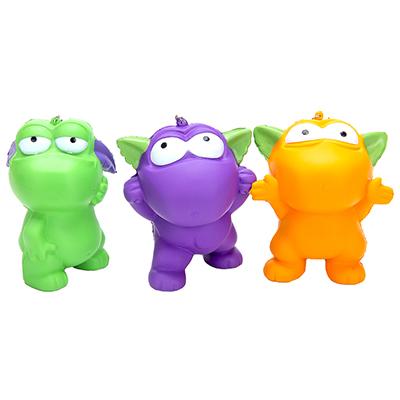 297-041 LASTIKS Игрушка-мялка, с ароматом, ПУ, 11-15см, 3 дизайна