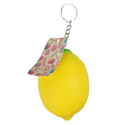 297-043 Игрушка-мялка лимон с ароматом, ПУ, 7х9х7см