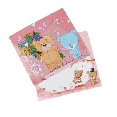 285-146 Пазл + рамка для рисования, маркер, картон, 19х17,2х0,5 см, 6-12 дизайнов