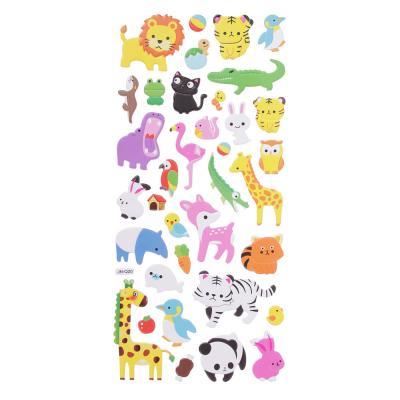 283-084 Набор детских декоративных наклеек ассорти, 30,5х13,5см, 10-12 дизайнов