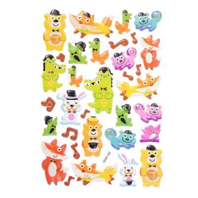 283-085 Набор 3D объемных декоративных наклеек, 12х21,5см, 7-9 дизайнов