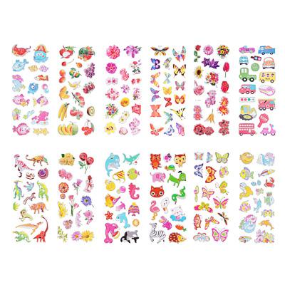283-087 Набор детских декоративных наклеек на прозрачной основе, 21,5х7см, 15-20 дизайнов