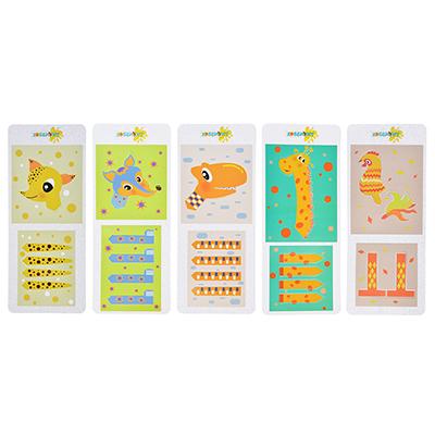 """289-128 ХОББИХИТ Мини набор для творчества """"Животные"""", тесто для лепки 22г, 4-6 дизайнов"""