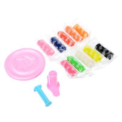 289-131 Набор для творчества, тесто для лепки 60г, 10 цветов, пластик 1пр, 2 цвета