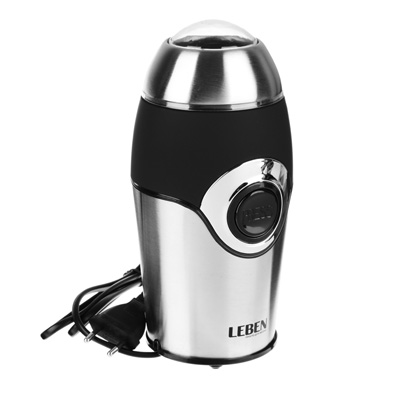 Кофемолка 220Вт, загрузка 50гр, металл, soft touch
