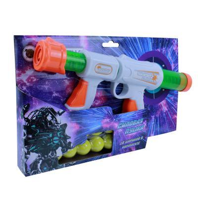 261-662 ИГРОЛЕНД Ружье 34 см, 10 шариков, пластик, 35,5х15х6,5см