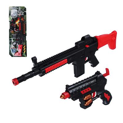 261-667 Пистолет на батарейках 24 см, свет, звук, пластик, 17х3х28