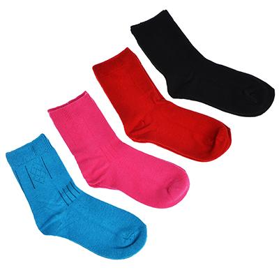 312-443 Носки детские, 85% хлопок, 15% полиамид, 16-18см/18-20см, 4 цвета