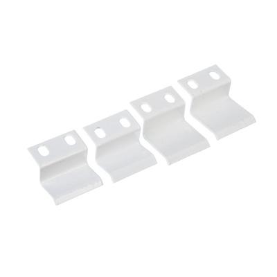 602-146 Крепление для москитной сетки металлическое, белое
