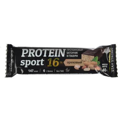 015-056 Батончик protein sport, шоколадный, 40 гр