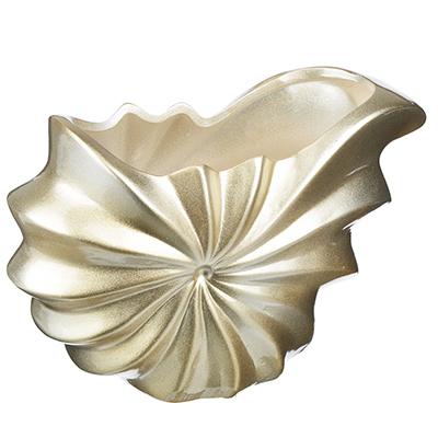 502-684 Ваза декоративная керамическая фигурная, 24х16х10 см