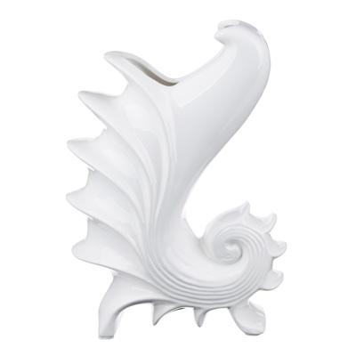 502-687 Ваза декоративная керамическая фигурная, 26х18х10,5 см