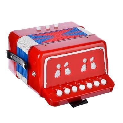 538-096 Игра музыкальная, гармонь, 17х10,5х17,5 см, пластик