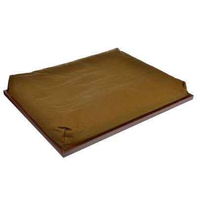 """531-137 Поднос на подушке, 43х32,5х6 см, МДФ, """"Чашка кофе"""""""