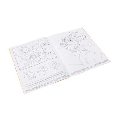 """290-229 Раскраска с фикси-играми, """"Необычные открытия"""", 16стр., бумага, картон, 20х25,5см, 5 дизайнов"""