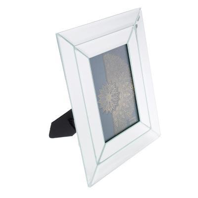 520-515 Фоторамка 20х24 (10х15) см, стекло, двойная зеркальная