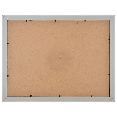 424-007 Фоторамка с пайетками и прищепками на 4 фотографии, 43х34 см, 4 цвета, ПВХ, пластик, МДФ