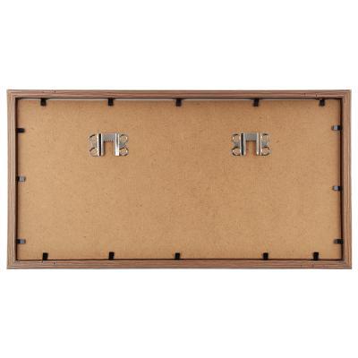 424-010 Фоторамка магнитная, на 2 фотографии, 31,5х16,5х3,5 см, МДФ , пластик