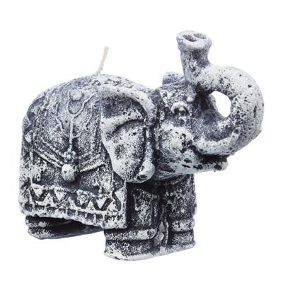 """508-565 Свеча """"Слон"""" парафиновая фигурная цветная, 12,5х5,4 см"""