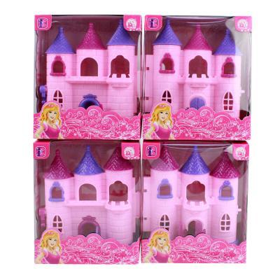 """278-095 Игровой набор """"Замок принцессы, пластик, 12х6х14 см"""