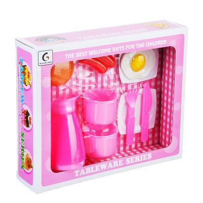"294-089 Игровой набор ""Завтрак"", 9 пр., пластик, 27,5х7х22,5 см"