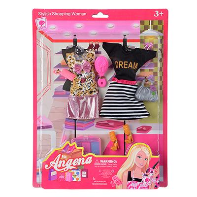 267-776 Набор одежды для кукол с аксессуарами, текстиль, пластик