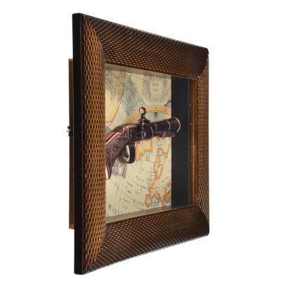 597-157 Коллаж сувенирный, МДФ, стекло, 38,5х29,5 см