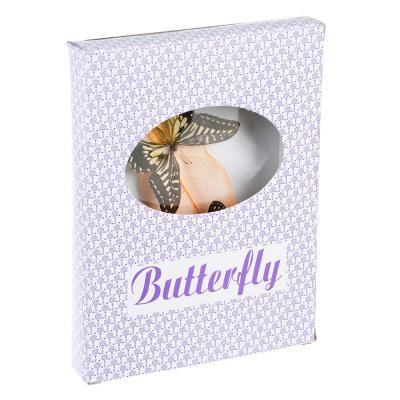 597-164 Панно с бабочками, стекло, МДФ, 16х21 см