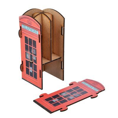 595-008 Подставка для ручек и карандашей ClipStudio Автобус/Телефонная будка, сборная