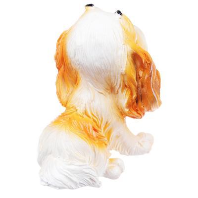509-787 Фигурка в виде собаки, 7х8 см, полистоун, 4 вида