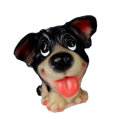 504-591 Копилка в виде собаки, 11х8 см, полистоун, 4 вида