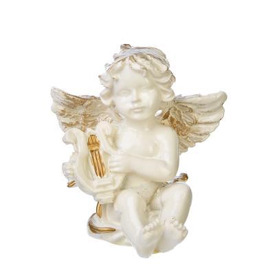 509-791 Статуэтка в виде ангела, 8х5 см, полистоун, 4 вида