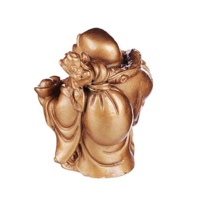 509-794 Фигурка в виде Будды, 9х6х5 см, полистоун, 6 видов