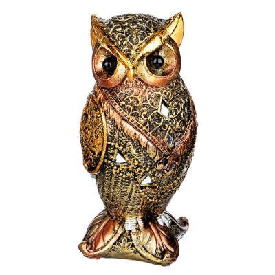 509-799 Фигурка в виде совы, 5,5х5,5х13,5 см, полистоун, 2 вида