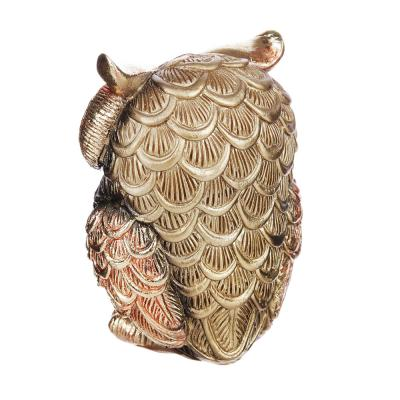 509-801 Фигурка в виде совы, 10,5х8х6 см, полистоун, 2 вида