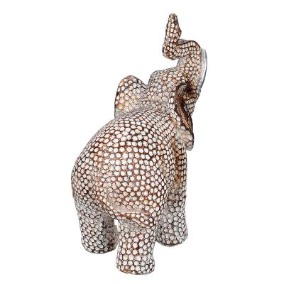 509-804 Фигурка в виде слона, 13х13,5 см, полистоун