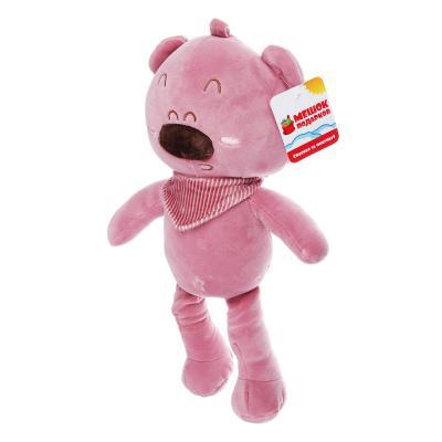 264-207 МЕШОК ПОДАРКОВ Мягкая игрушка Плюшевые животные, 37см, полиэстер, 3 дизайна