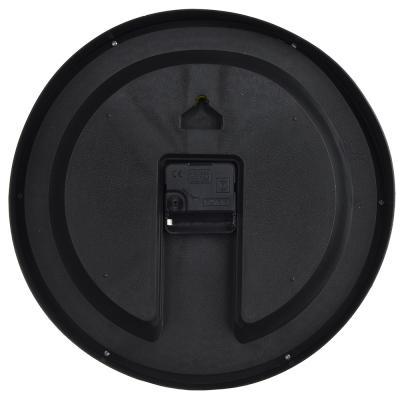 """581-736 Часы настенные, пластик, 30 см, 1хАА, 2 цвета, """"Помидоры и базилик"""""""