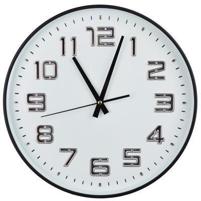 581-742 Часы настенные, светящиеся, пластик, 35 см, 1хАА, USB