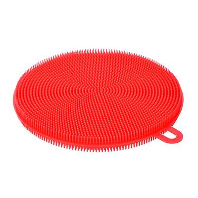 441-130 Губка многофункциональная, силикон, 11х1,2 см, VETTA
