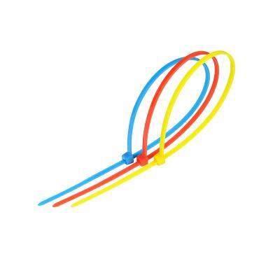 624-029 ЕРМАК Хомут нейлоновый для стяжки 2,5х200мм, цветной 15шт/пак