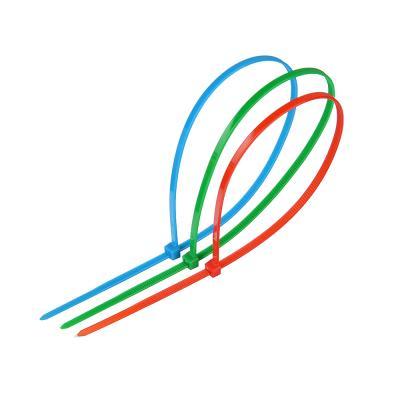 624-030 ЕРМАК Хомут нейлоновый для стяжки 3,5х300мм, цветной 10шт/пак